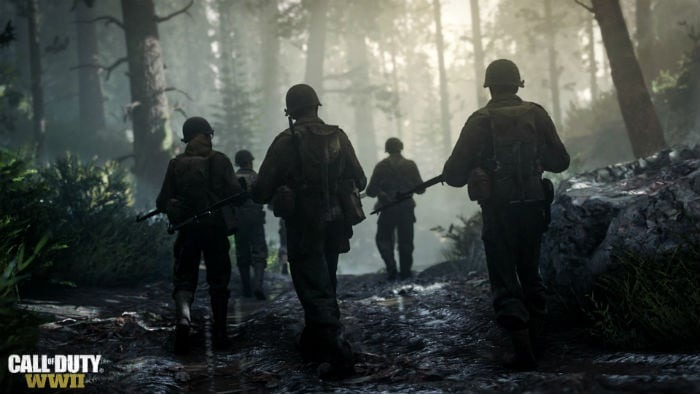 Forest Battles Call of Duty: WWII